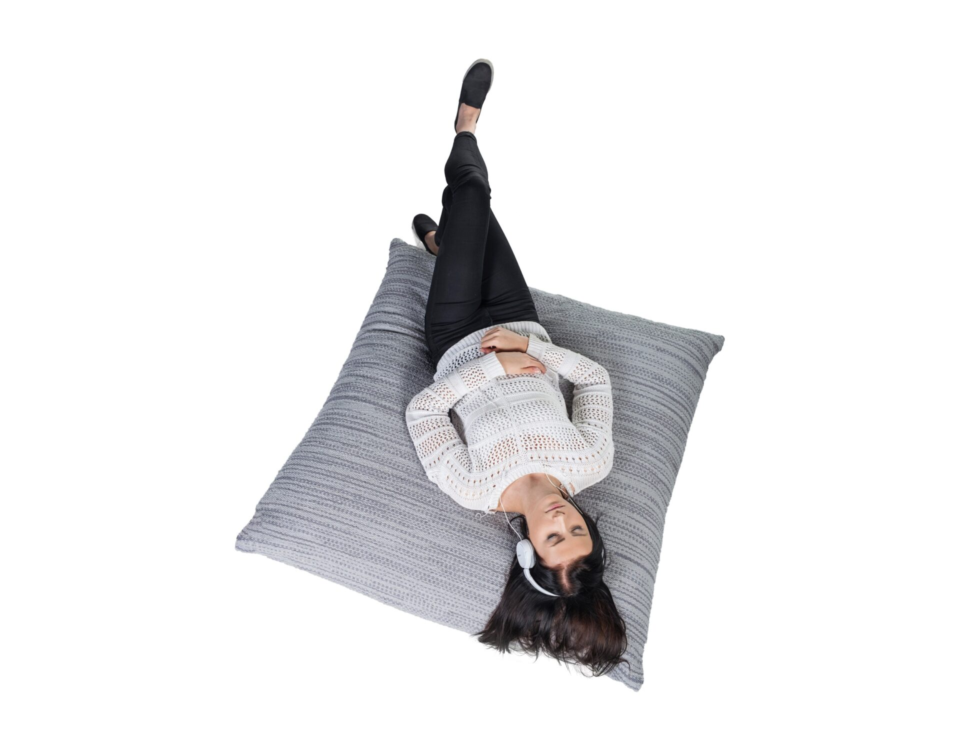 Floor cushions. Scandinavian floor pillows. Nordic pillows made in Finland.
